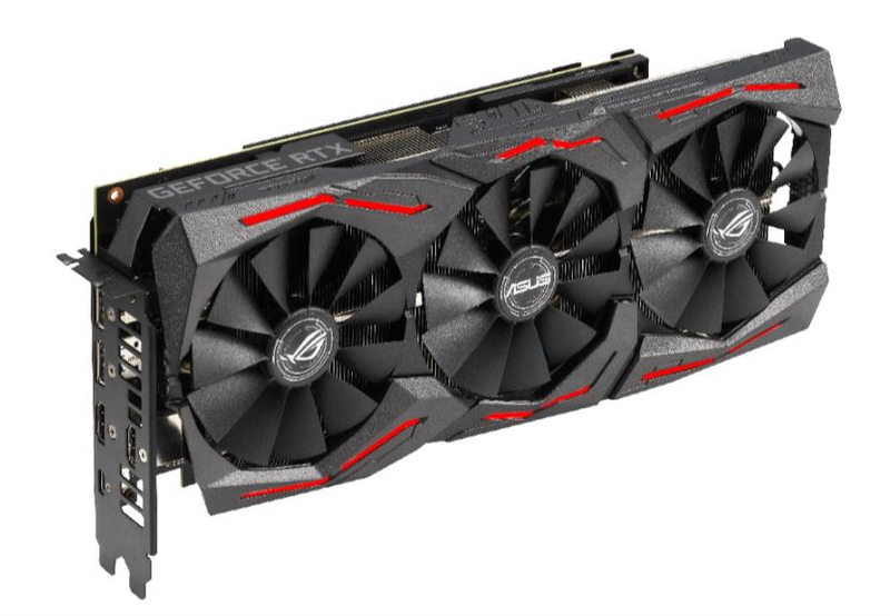Видеокарта ASUS ROG GeForce RTX 2070 SUPER 1605MHz PCI-E 3.0 8192MB 14000MHz 256 bit 2xDisplayPort 2xHDMI HDCP Strix Gaming Advanced