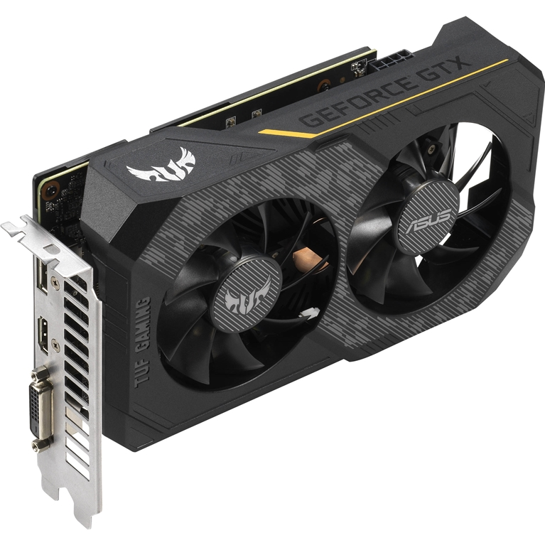 Видеокарта ASUS TUF GeForce GTX 1660 1500MHz PCI-E 3.0 6144MB 8002MHz 192 bit DVI HDMI DisplayPort HDCP Gaming OC