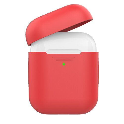 Кейс для Airpods AHA Style Case for Airpods 2 and 1 Red/