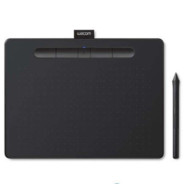 Графический планшет Wacom Intuos Medium Bluetooth (CTL-6100WLK-N) Чёрный
