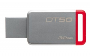 Флешка Kingston 32GB DT50/32GB металл