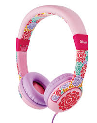 Наушники Trust SPILA KIDS HEADPHONE - FLOWER