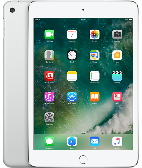 Планшет Apple iPad mini 4 128gb Wi-Fi Silver