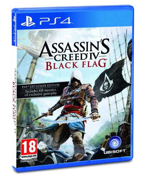 Игра Assassin's Creed 4 Black Flag (бродилка) (ps3) Sony