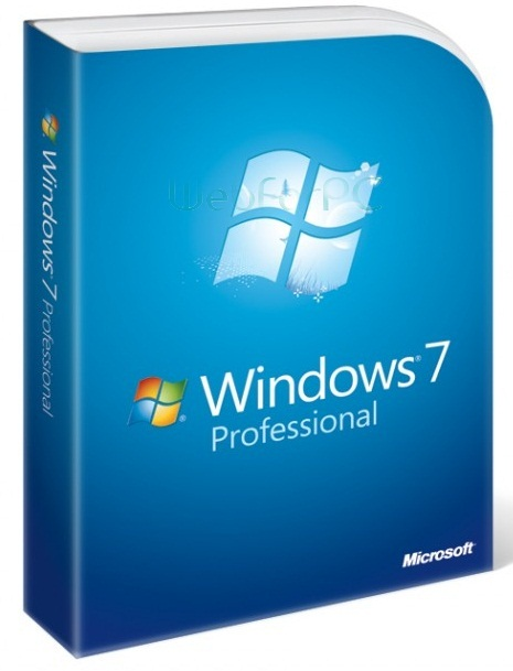 Microsoft Windows 7 Professional 32 bit English