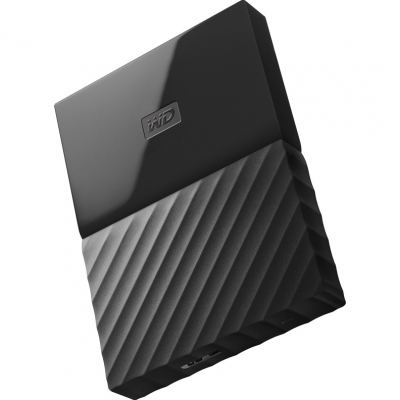 Внешний жёсткий диск Western Digital My Passport 1 TB WDBBEX0010BBK-EEUE