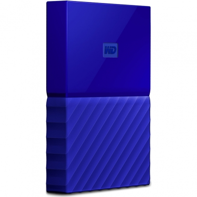 Внешний жёсткий диск Western Digital My Passport 1 TB WDBBEX0010BBL-EEUE