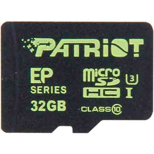 Карта памяти Patriot EP Series PEF32GEMCSHC10 32GB