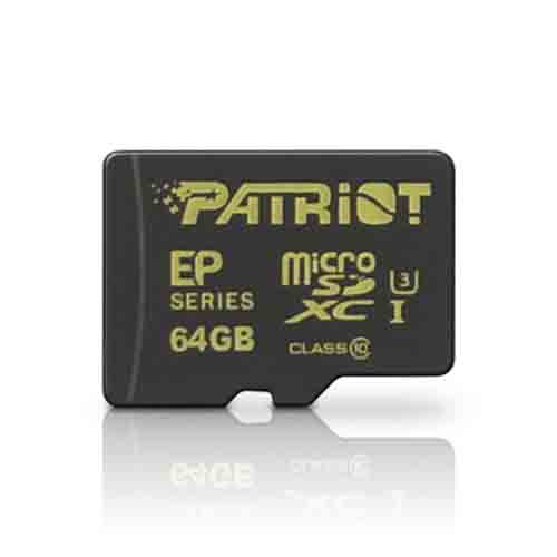 Карта памяти Patriot EP Series PEF64GEMCSXC10 64GB