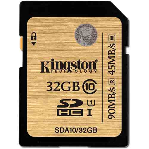 Карта памяти Kingston SecureDigital SDA10/32GB