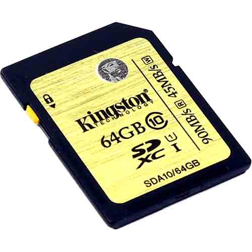 Карта памяти Kingston SecureDigital SDA10/64GB