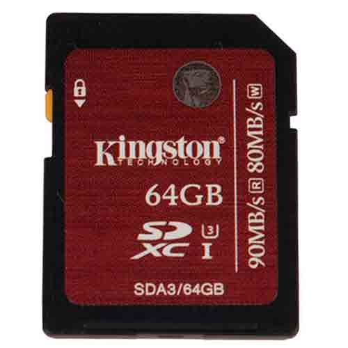 Карта памяти Kingston SecureDigital SDA3/64GB