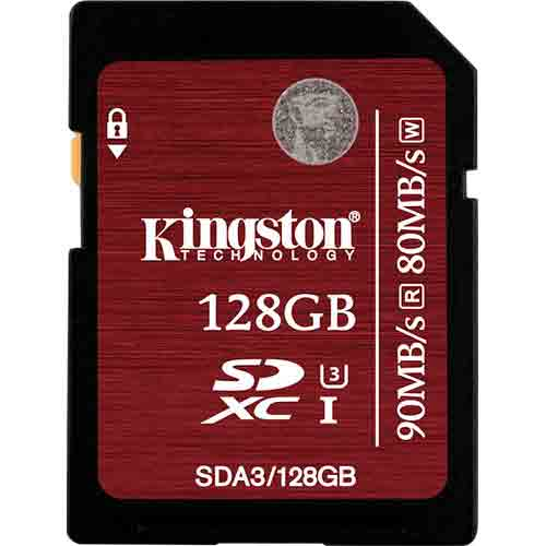 Карта памяти Kingston SecureDigital SDA3/128GB