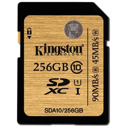 Карта памяти Kingston SecureDigital SDA10/256GB