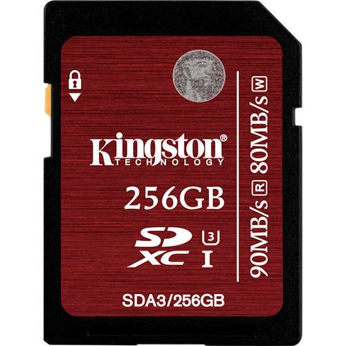 Карта памяти Kingston SecureDigital SDA3/256GB