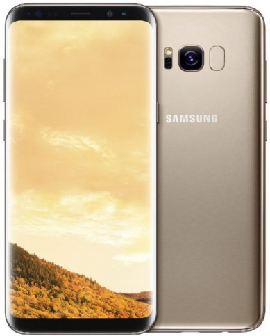 Смартфон Samsung Galaxy S8 Yellow Topaz