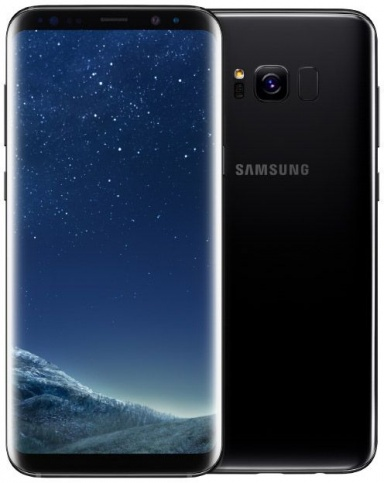 Смартфон Samsung Galaxy S8 Black Brilliant
