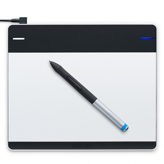 Графический планшет Wacom Intuos Pen and Touch Small Tablet CTH-480