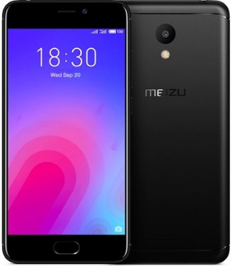 Смартфон Meizu M6 16Gb Black