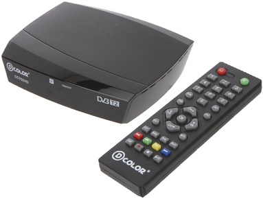 Тюнер Dcolor DC702HD