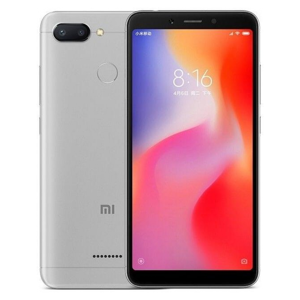 Смартфон Xiaomi Redmi 6A 16Gb Gray