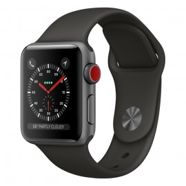 Умные часы Apple Watch Series-3 42mm MQL52 Sport Gray