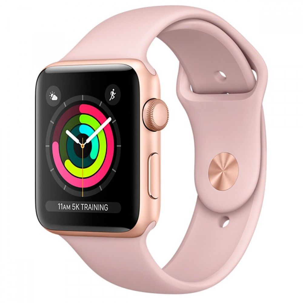 Умные часы Apple Watch Series-3 38mm MQKW2 Sport Rose