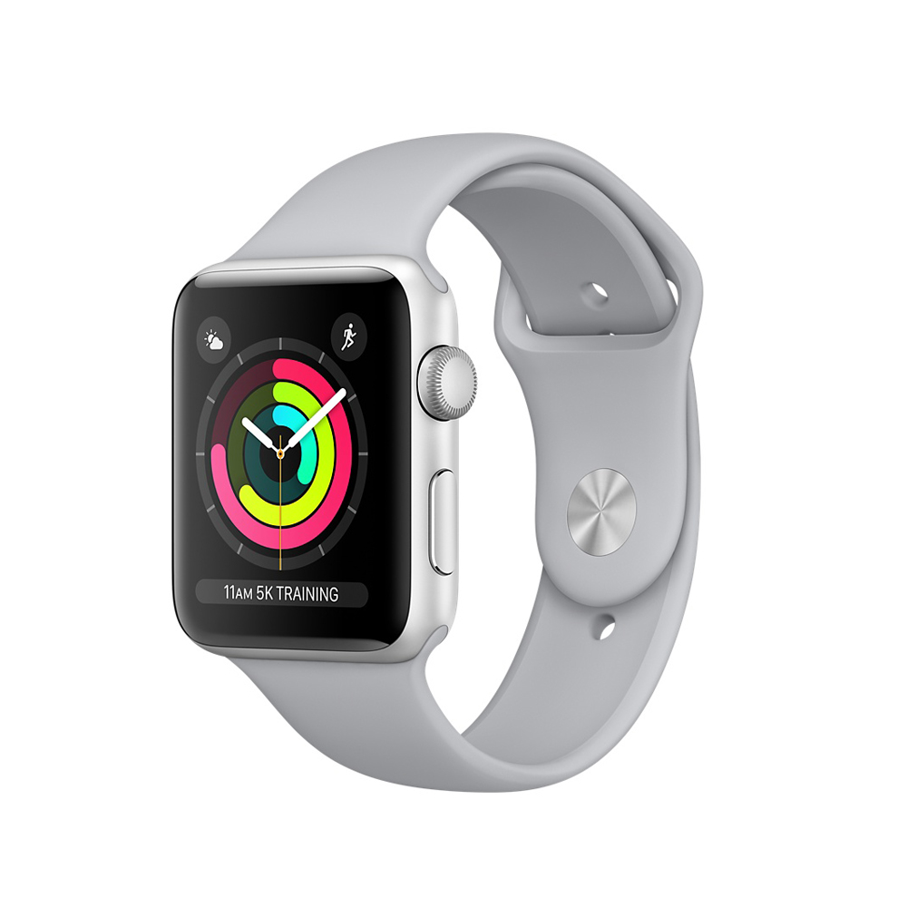 Умные часы Apple Watch Series-3 38mm MQKU2 Sport FOG Silver