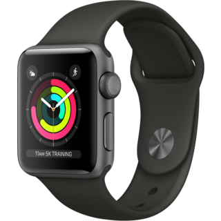 Умные часы Apple Watch Series-3 38mm MR352 Sport Gray