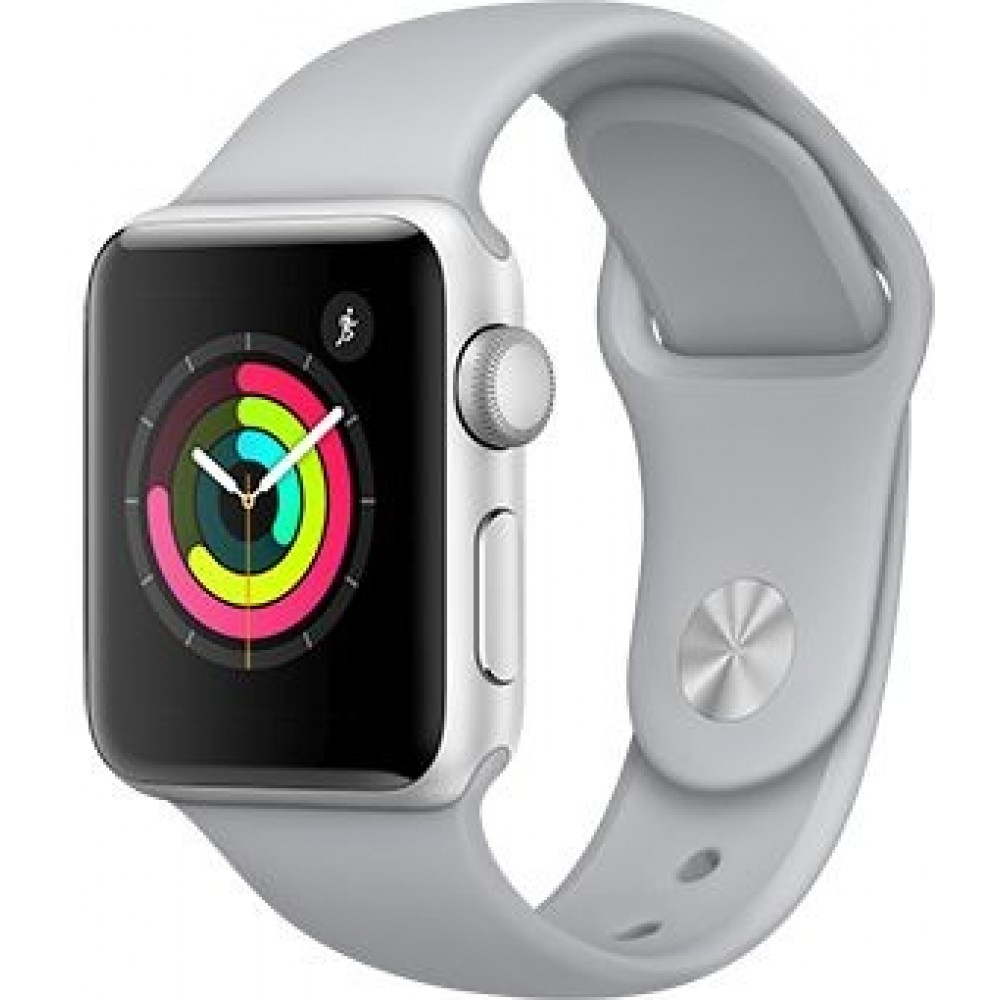 Умные часы Apple Watch Series-3 42mm MQLO2 Sport Fog Silver