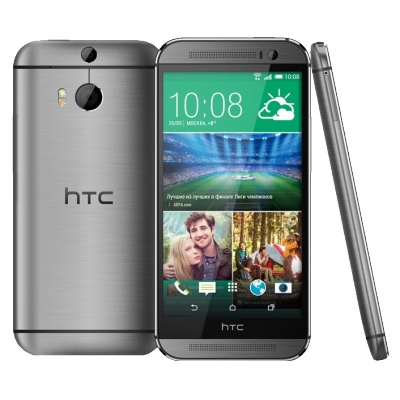 Смартфон HTC One M8 16Gb Dual Sim [99HZV013-00] Gray