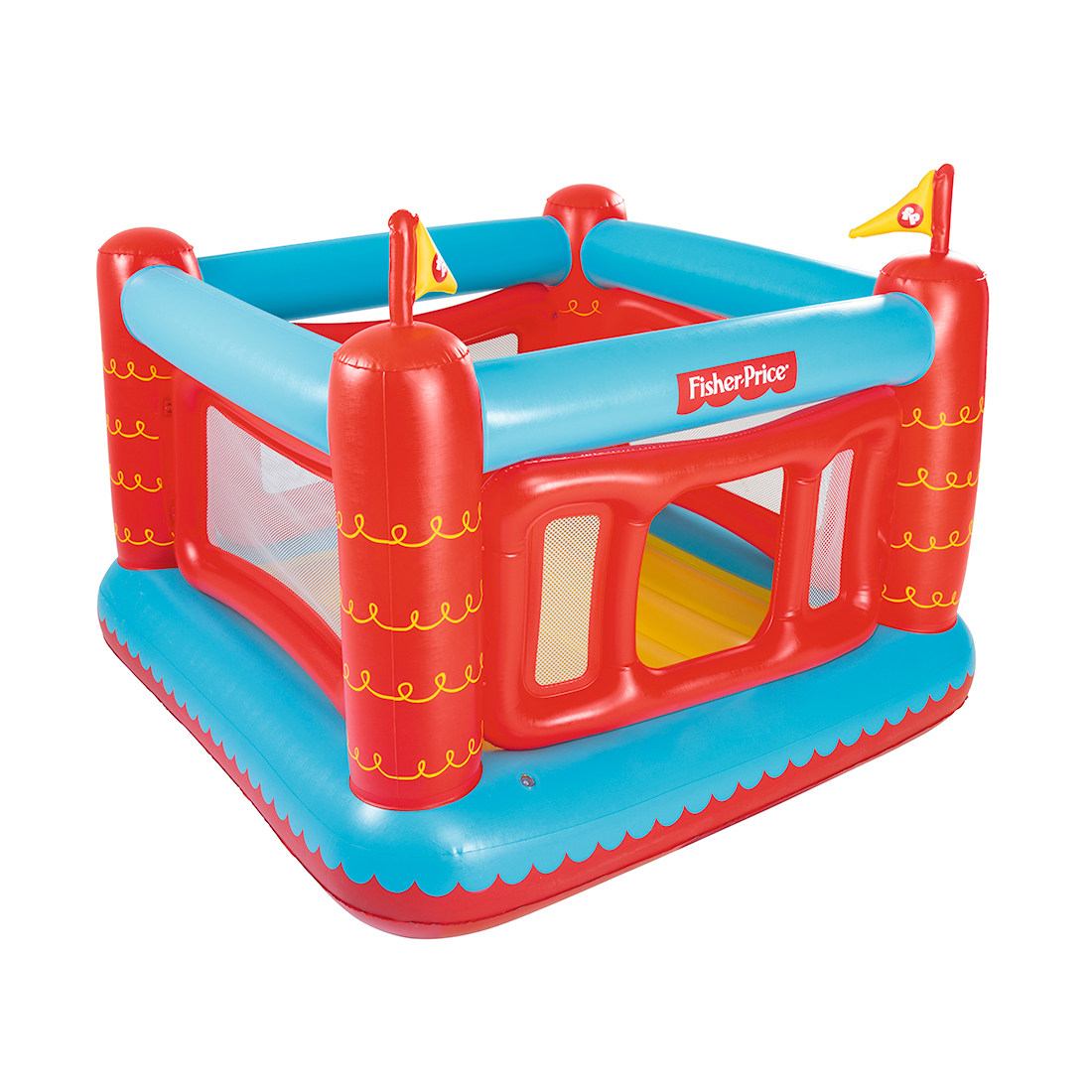 Надувной батут Fisher Price Bouncetastic Bouncer 93504