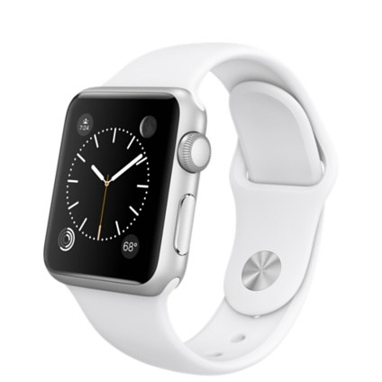 Умные часы Apple Watch Series 1, 38mm Silver Aluminium Model A1802