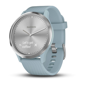 Смарт-часы GARMIN vivomove HR,Sport,Silver with Seafoam Silicone 010-01850-08