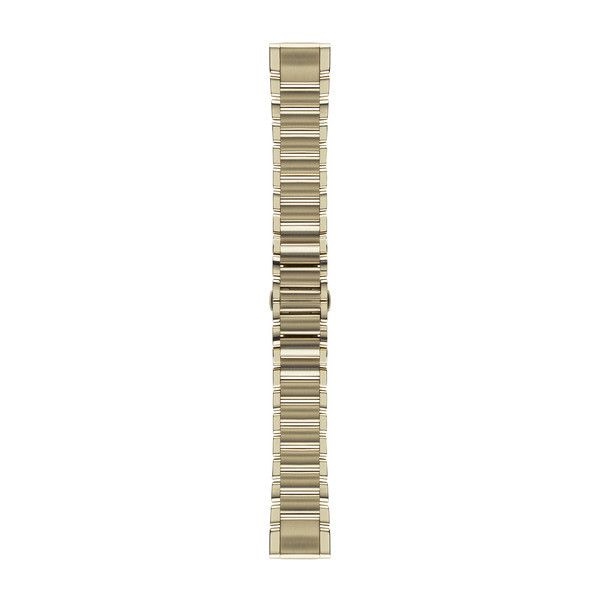 Ремешок 20mm QuickFit Goldtone Stainless Steel Band (для Fenix 5S) 010-12491-17