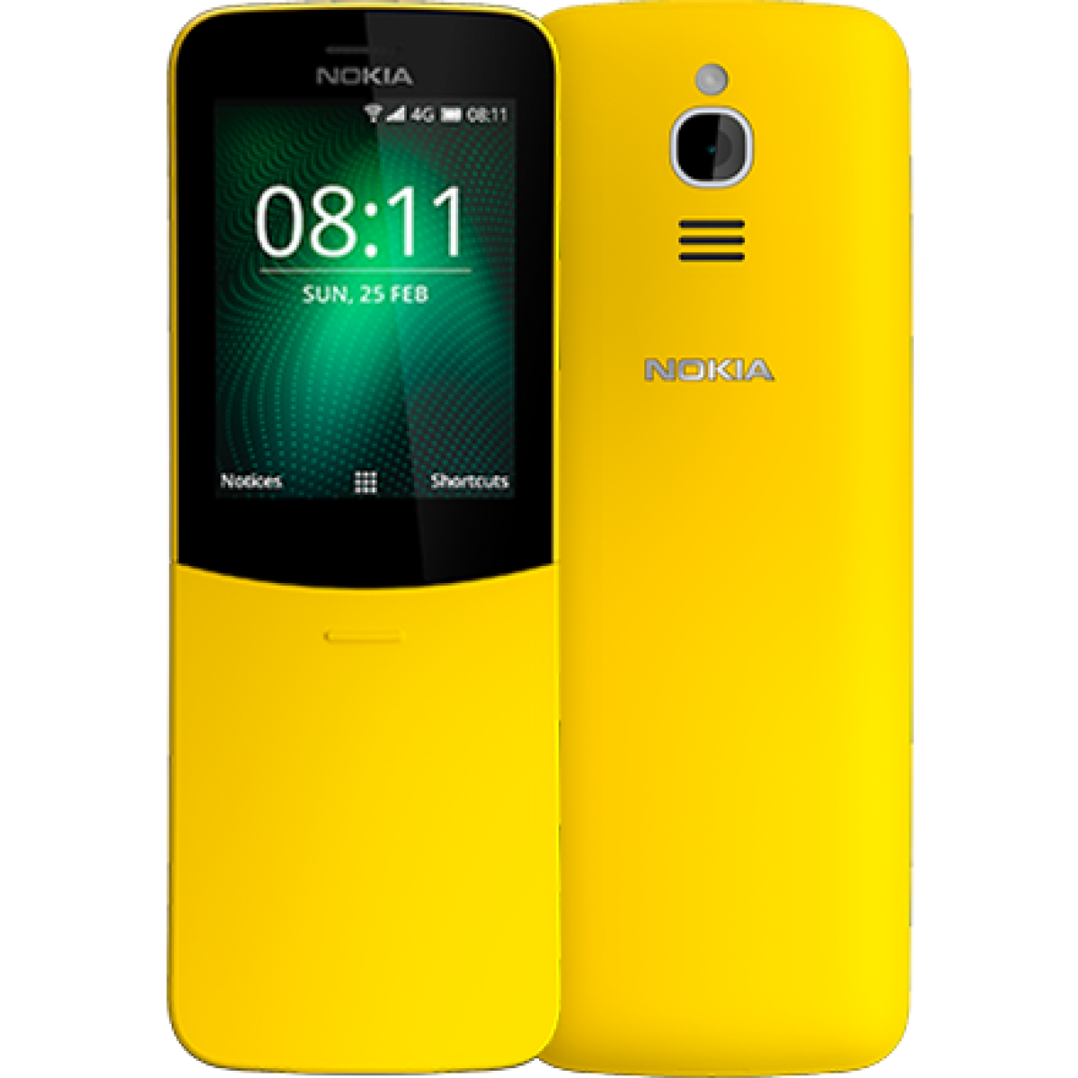 Телефон Nokia 8110 4g ta-1048 ds yellow