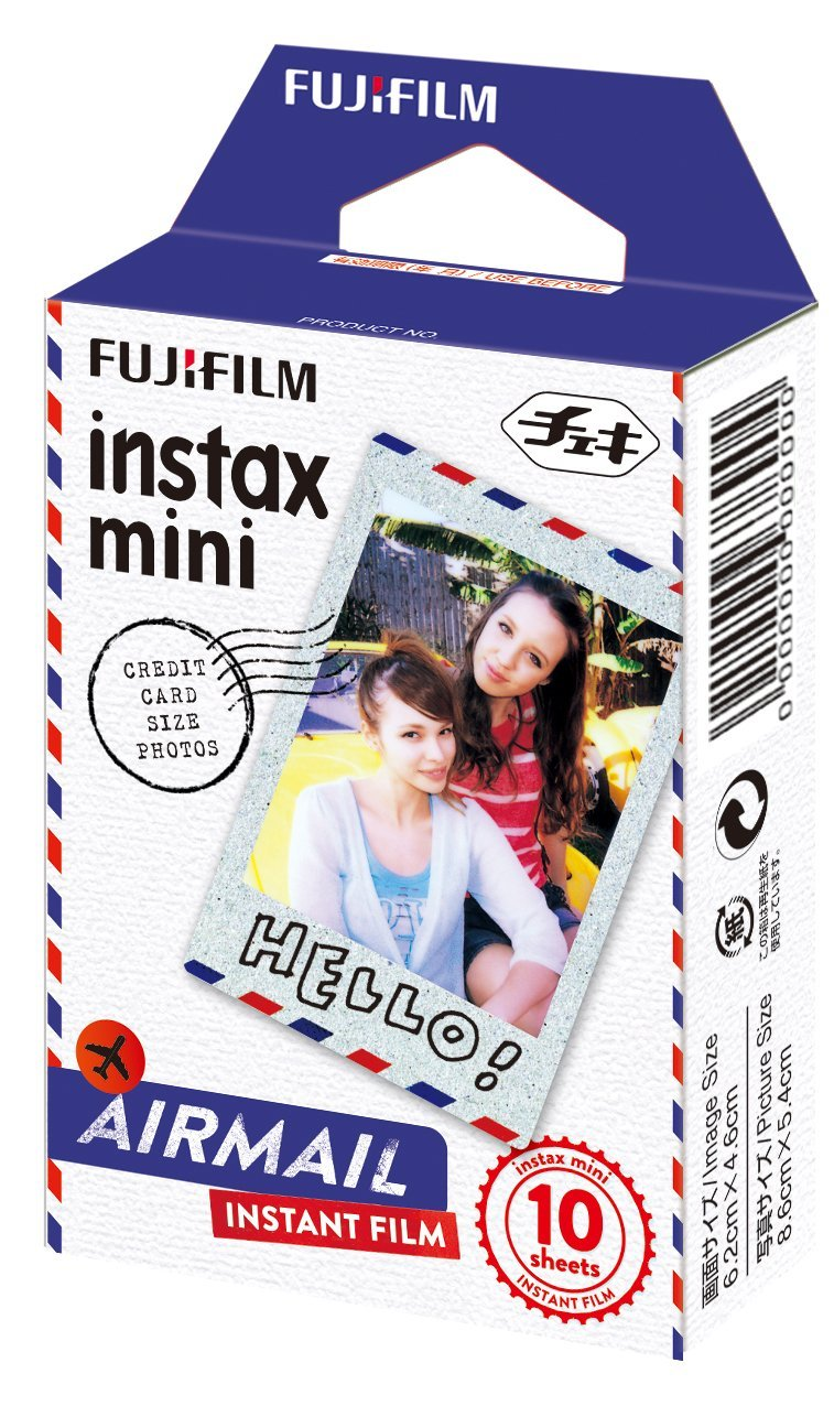 Плёнка Instax mini air mail для моментальных снимков