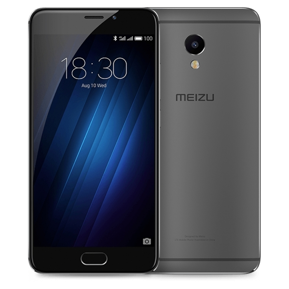 Смартфон MEIZU M3E 32GB (black)