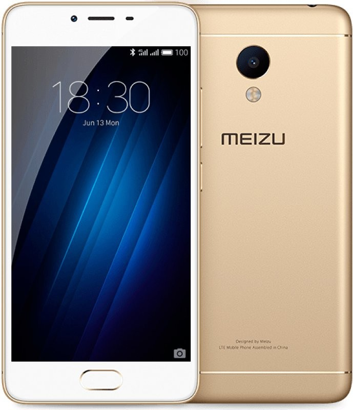 Смартфон MEIZU M3S 16GB (gold)