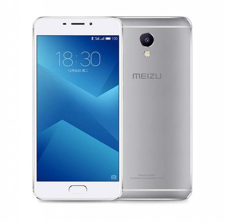 Смартфон MEIZU M5 NOTE 16GB (silver)