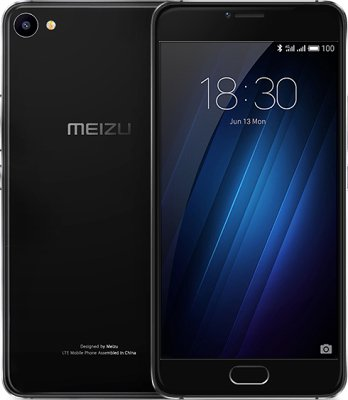 Смартфон MEIZU U20 32GB (black)