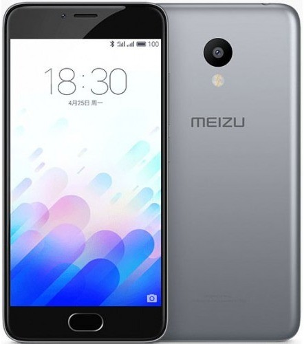Смартфон Meizu M3S 16gb (gray)
