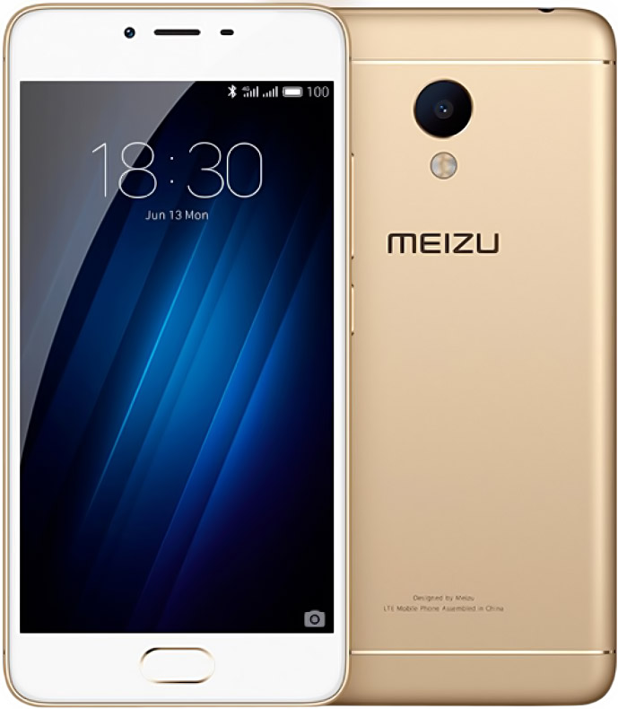 Смартфон Meizu M3S 32gb (gold)