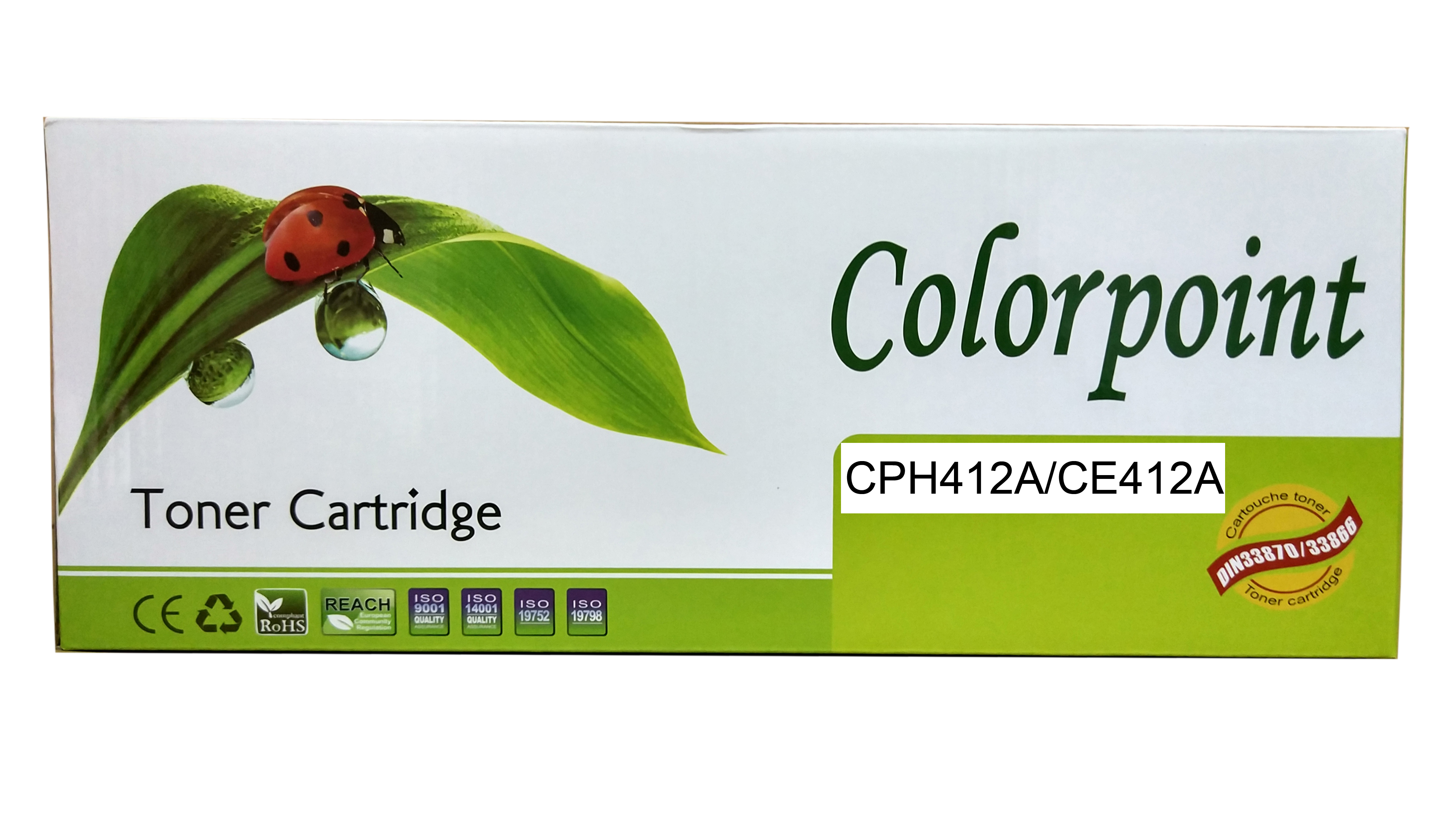 Картридж Colorpoint CPH412A CE412A