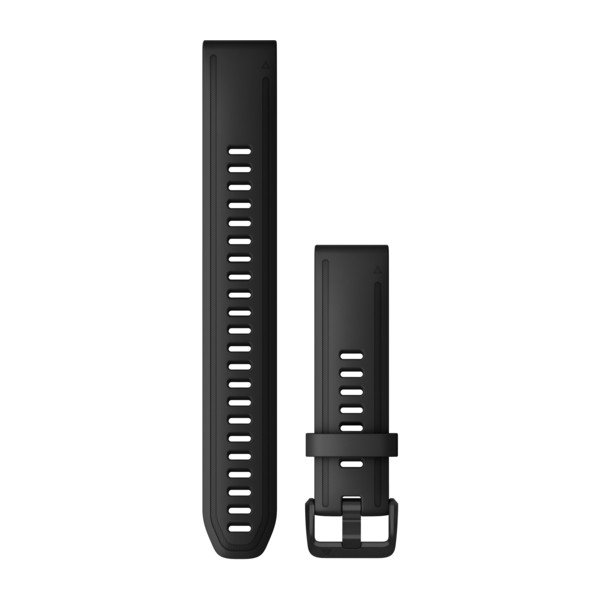 Garmin ремешок 6s 20mm QuickFit Long Strap Black силиконовый 010-12942-00
