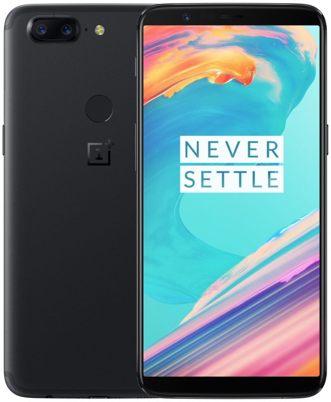 Смартфон OnePlus 5T 128GB Black