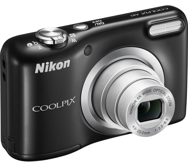 Фотоаппарат Nikon Coolpix A10 (black)