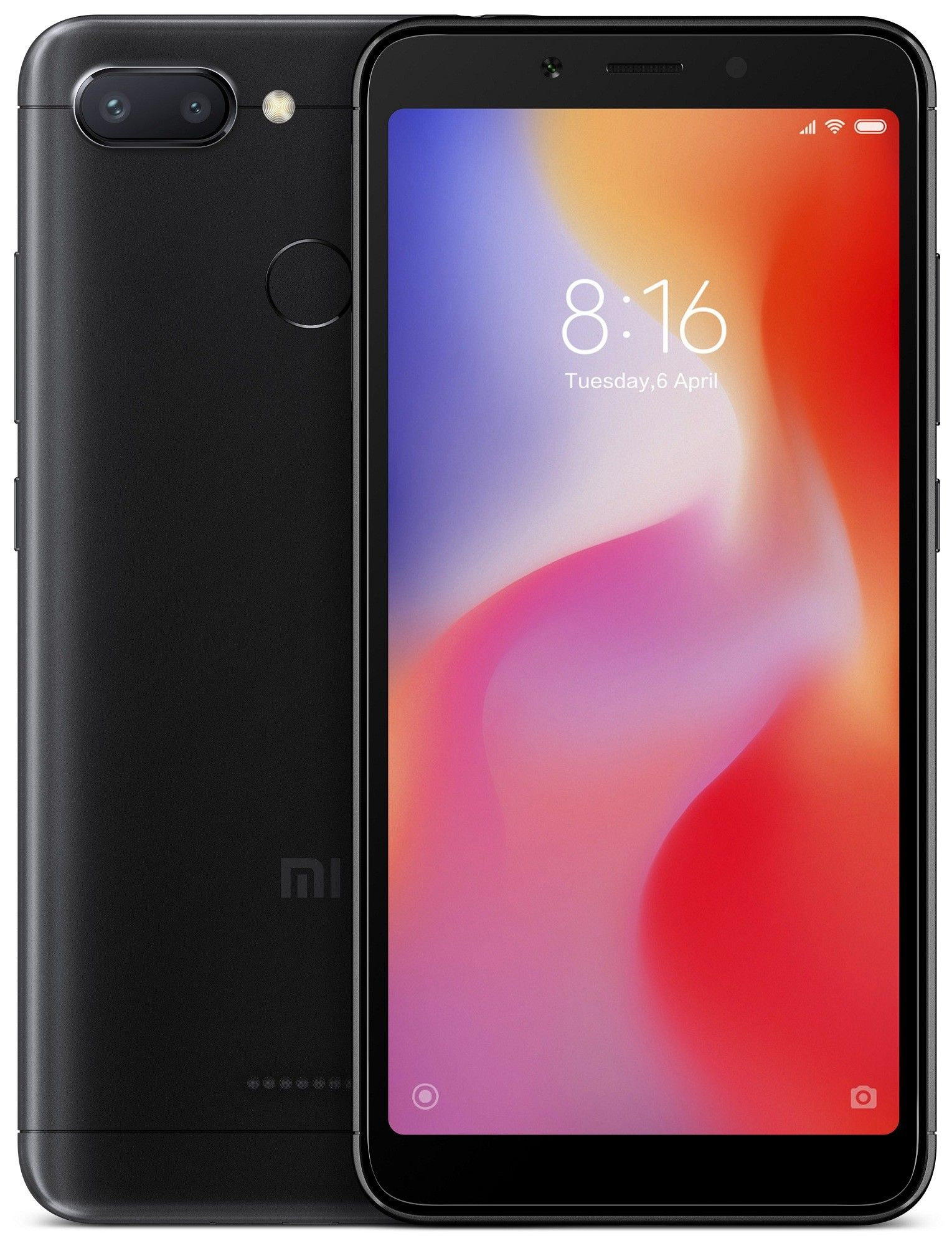 Смартфон Xiaomi Redmi 6 (Black) 64GB