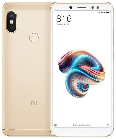 Смартфон Xiaomi Redmi Note 5 (Gold) 64GB